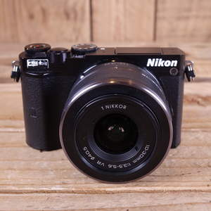 Used Nikon 1 J5 Black Digital Camera with 10-30mm VR lens