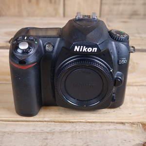 Used Nikon D50 DSLR Black D-SLR Camera Body