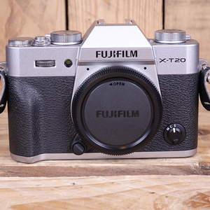 Used Fujifilm X-T20 Silver Digital Camera Body