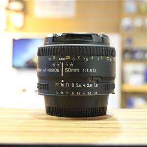 Used Nikon AF 50mm F1.8 D Lens