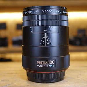 Used Pentax AF 100mm f2.8 D FA WR Macro Lens