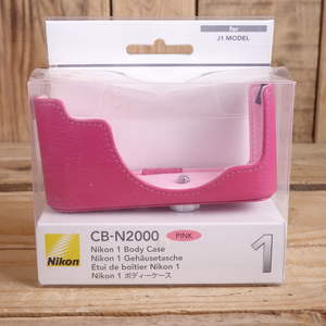 Used Nikon CB-N2000 Nikon 1 Body Case Pink