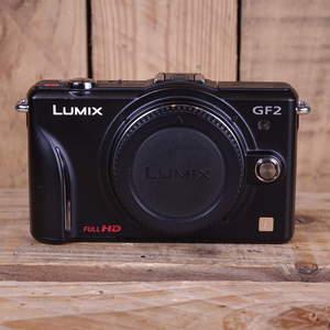 Used Panasonic DMC-GF2 Camera Black Body