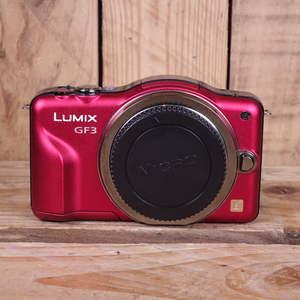 Used Panasonic Lumix GF3 Red Camera Body