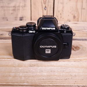 Used Olympus OM-D E-M10 Black Digital Camera Body