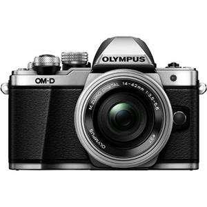 Olympus OM-D E-M10 Mark II  | 14-42mm Lens | 16.1 MP | Live MOS Sensor | Full HD Video | Silver