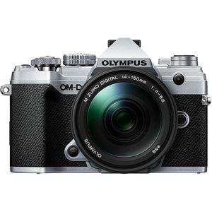 Olympus E-M5 Mark III | 14-150mm Kit | 20.4 MP | Live MOS Sensor | 4K Video | Silver