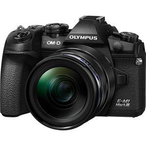 Olympus OM-D E-M1 Mark III Kit   12-40mm M.Zuiko Lens   20.4 MP   CMOS Sensor   4K Video   Wi-Fi