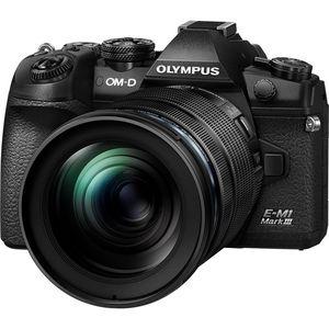 Olympus OM-D E-M1 Mark III Kit | 12-100mm M.Zuiko Lens | 20.4 MP | CMOS Sensor | 4K Video | Wi-Fi