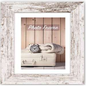 Rustic Nelson Wood 30x30cm Photo Frame