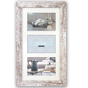 Nelson 6 Triple Photo Frame for 7x5 inch Photos