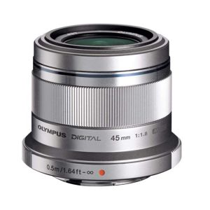 Olympus 45mm f1.8 M.ZUIKO Silver Micro Four Thirds Lens
