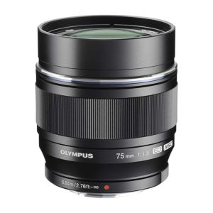 Olympus 75mm f1.8 ED M.ZUIKO Black Micro Four Thirds Lens