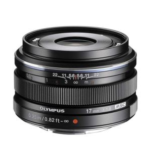Olympus 17mm f1.8 M.ZUIKO Black Micro Four Thirds Lens