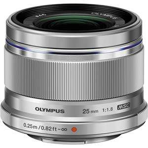 Olympus 25mm f1.8 M.ZUIKO Silver Digital Lens