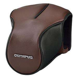 Olympus CS-46FBC Brown Leather Body Jacket for OM-D E-M5 Mark II