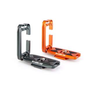 3 Legged Thing Ellie PD Short L-Bracket | 70mm Base Plate with Capture Clip Compatibility
