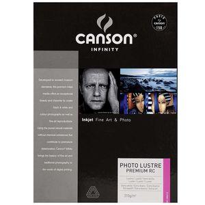 Canson Infinity Photo Lustre Premium RC 310gsm Photo Paper - Acid Free