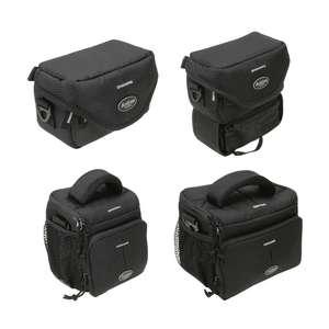 Dorr | Action Black Camera Shoulder Bags | Range of Sizes | Tear & Waterproof Nylon