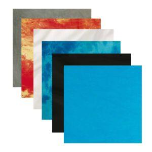 Dorr Textile Backdrops | Multiple Colours | Two Sizes Available