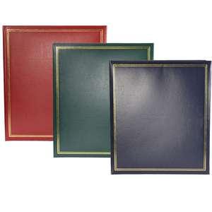 Dorr Classic A4 Photo Album Collection, Slip In, 100 Photos, Memo, Overal Size 11x12.5 inch