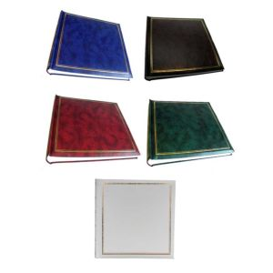 Classic Traditional Photo Album | 100 Sides | 200 Photos