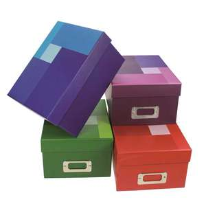 Dorr Colour Photo Boxes | Stores up to 700 6X4 Photos | 6 Index Cards