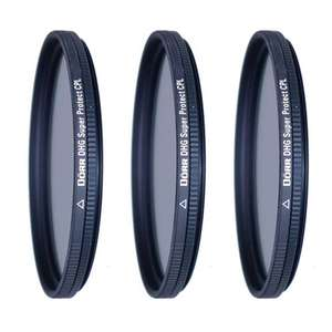 Dorr DHG Super Circular Polarizing Filters | Multiple Sizes Available