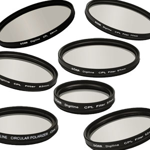 Dorr Digi Line Polarizing Filter Non-Refelective Slim Mount