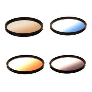 Dorr Graduated Colour Filters | Grey, Orange, Blue & Tobacco Colour