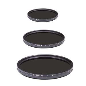 Dorr Neutral Density DHG ND2.5 - ND500 Variable Filters | Multiple Sizes Available
