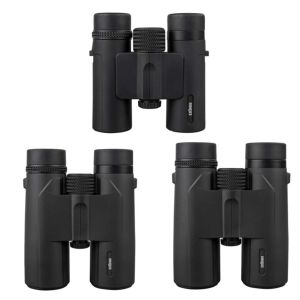 Dorr Scout Pocket Binoculars | BAK4 Prisms | Lens Caps Included