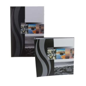 Wave 6x4 Slip In Photo Albums   200 and 300 Photos   Memo Area