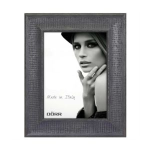 Chalet Black Wood Photo Frame | Hangs or Stands | Horizontal or Vertical