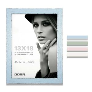 Shabby Chic Wooden Box Photo Frame   Hangs or Stands   Horizontal or Vertical