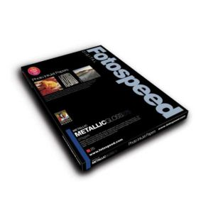Fotospeed Metallic Gloss 275 Photo Paper | 275 GSM | 25 Sheets | A2/A3/A3+/A4