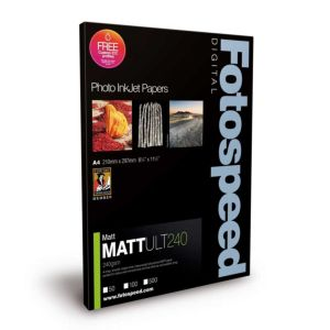 Fotospeed Matt Ultra 240 Photo Paper | 240 GSM