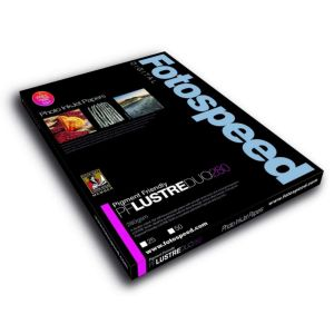 Fotospeed Pigment Friendly Lustre Duo 280 Double Sided Photo Paper | 280 GSM | 25 Sheets