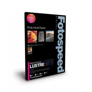Fotospeed Pigment Friendly Lustre 190 Photo Paper | 190 GSM | A2/A3/A3+/A4