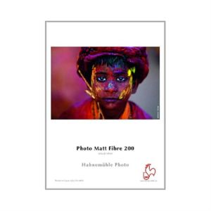 Hahnemuhle Photo Matt Fibre Paper | 200 GSM | 25 Sheets | A2/A3/A4