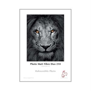 Hahnemuhle Photo Matt Fibre Duo Paper | 210 GSM | 25 Sheets | A3/A3+/A4