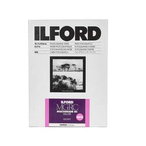 Ilford Multigrade V RC Deluxe Photographic Paper | Glossy