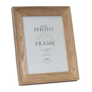 Studley Solid Light Oak Wood Photo Frame