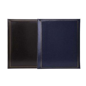 Grafton Self Adhesive Photo Album | 40 Sides | Page Size 6.75 x 10 Inches