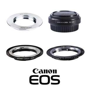 K&F | Canon EF Mount Lens Adapters | Converts Lenses to Fit Canon EF Mount Cameras