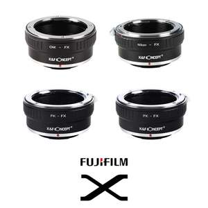 K&F | Fuji-X Lens Mount Adapters | Converts Lenses to Fit Fuji-X Series Cameras