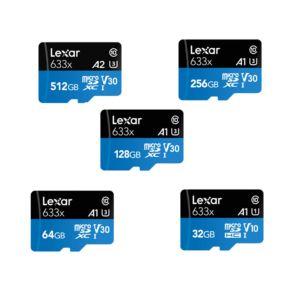 Lexar  633x microSDHC / microSDXC UHS-I Memory Cards