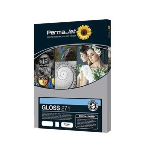 Permajet Instant Dry Gloss 271 Printing Paper | 271 GSM | Sheets & Roll