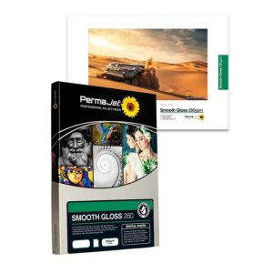 Permajet Smooth Gloss 280 Printing Paper | 280 GSM | A2/A4