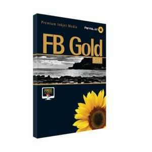 Permajet FB Gold Silk 315 Printing Paper   315 GSM   25 Sheets   A2/A3/A3+